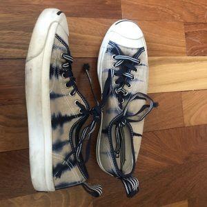 Converse tie dye jack Purcell sneakers